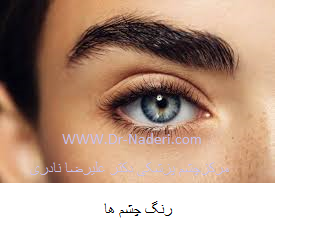 eye color رنگ چشم ها
